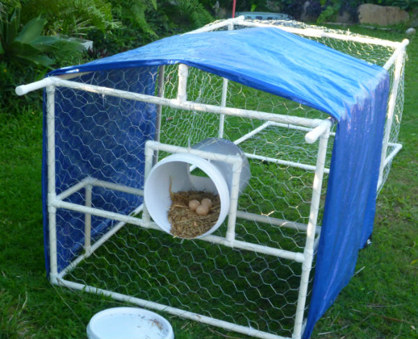 lightweight strong durable portable chicken coop