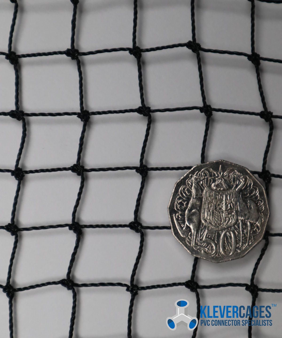 Buy Heavy duty knotted netting - Klever Cages