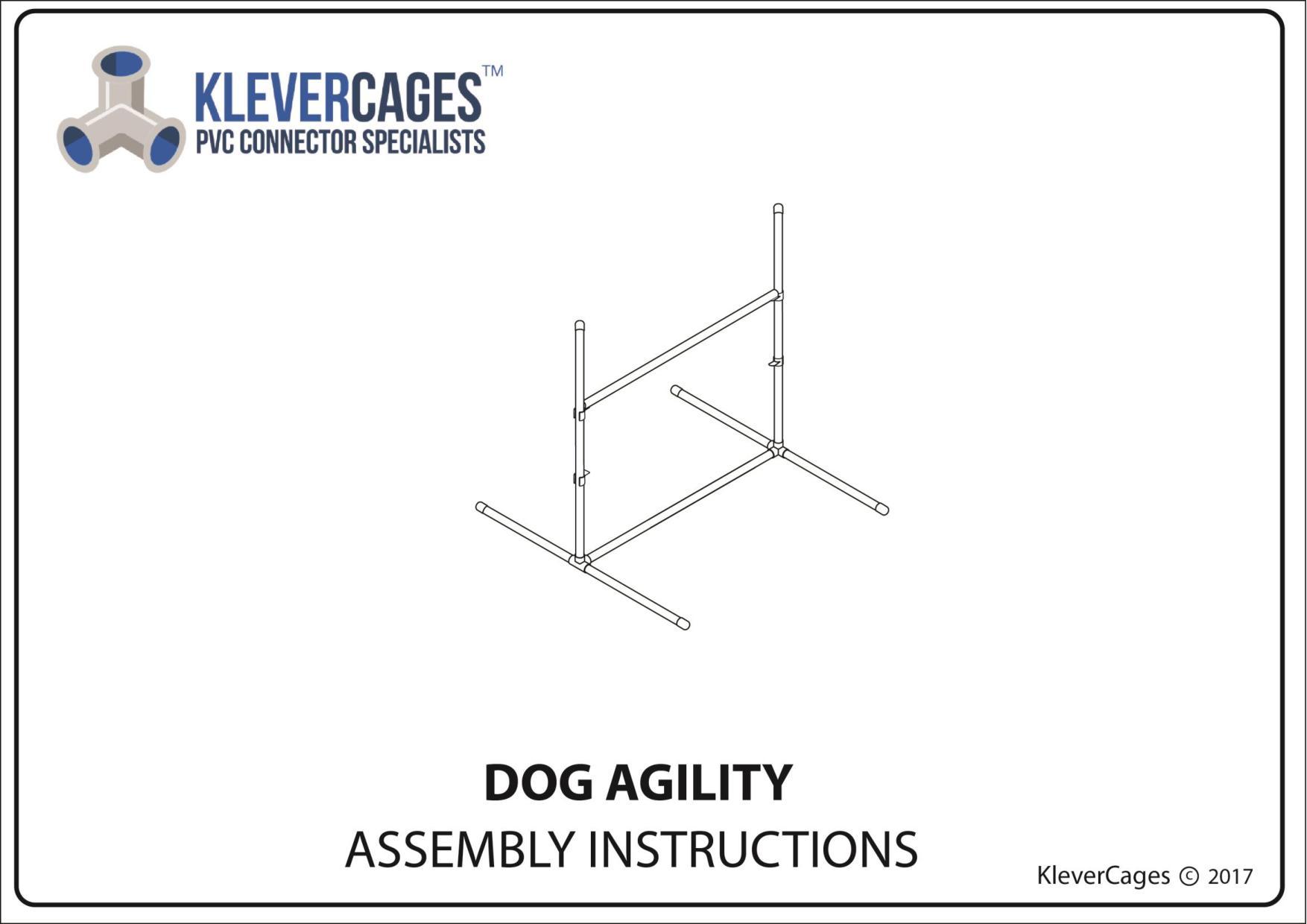 Dog agility Jump - PVC