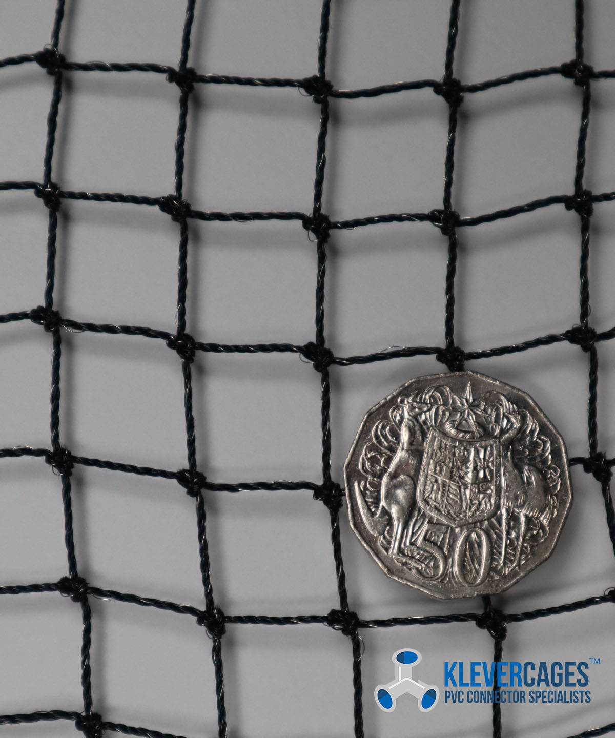 Buy - stainless steel threaded knotted netting - Klever Cages